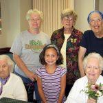 Flower Arranging Seminar  At Center For Nursing And Rehabilitation
