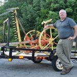 Wood Mower Returns To Hoosick Falls