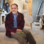 Sussman Completes Sculpture Of Pete Seeger