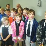 St. Mary's Academy Students Visit Veterans