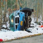 Pick Up Rolls Over Sunday Evening In Grafton