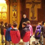 St. Mary's Second And Third Graders Visit New Skete