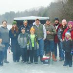 Near Record Number Of Contestants In The Annual Grafton Lakes State Park Ice Fishing Tournament