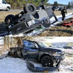 Dueling Drivers Have Difference  Of Opinion, Wreck Trucks