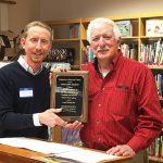 Library Honors John Meekins For Long Service