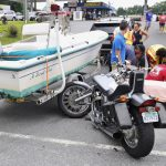 Motorcyclist Collides With Trailer On Route 7