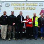 Saint Gobain Donates To Town Of Hoosick Rescue Squad