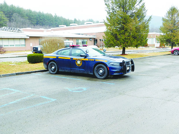 Threat to berlin middlehigh school deemed not credible the the berlin middlehigh school the morning after the incident showing a new york state police cruiser parked out front photo by doug la rocque sciox Gallery