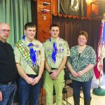 Justin Hall Achieves The Rank Of Eagle Scout
