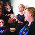 Cynthia Nixon Comes To Hoosick Falls To Talk About PFOA