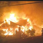 Grafton Home Destroyed By Fire