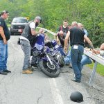 Motorcycle Accident For Participant Of Fundraising Run