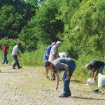 Trashing the Rock Cuts Along The Hoosic River