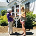 Amanda Despart Wins Library Scholarship