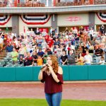Grafton Teen  Performs  National Anthem For ValleyCats