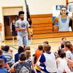 Pro Players Visit HFCS