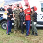 Kick Stands Up For Toys For Tots
