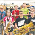 County Band Honors For HFCS Sixth Graders