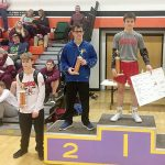 Wrestling Results From Ken Baker Tourney
