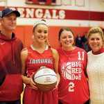 Erickson Breaks School Scoring Record